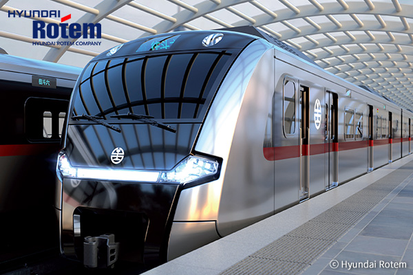 Hyundai Rotem, du matériel roulant ferroviaire de pointe