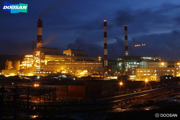 Doosan Heavy Industries & Construction ist Spezialist für Kraftwerksausrüstung