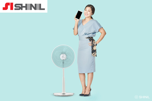 扇風機を製造・販売する「シニル産業」