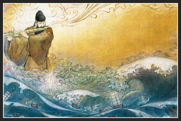 Manpasikjeok, la flauta que amansa las olas