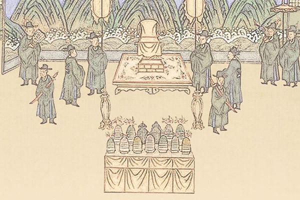 Tafel des Kaisers