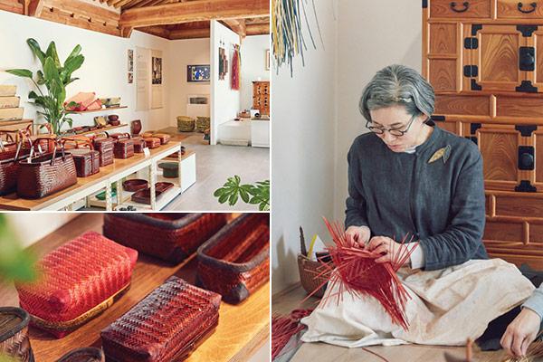 Seo Shin-jeong, eine Meisterin der Herstellung von Bambusschatullen Chaesang