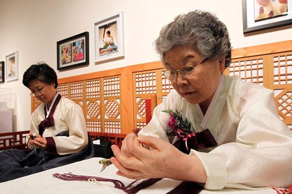 Maedeup-Meisterin Chung Bong-seop