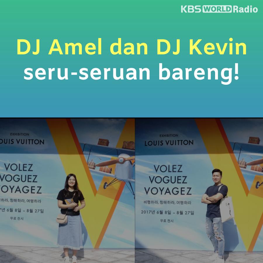 DJ Amel dan DJ Kevin  seru-seruan bareng!
