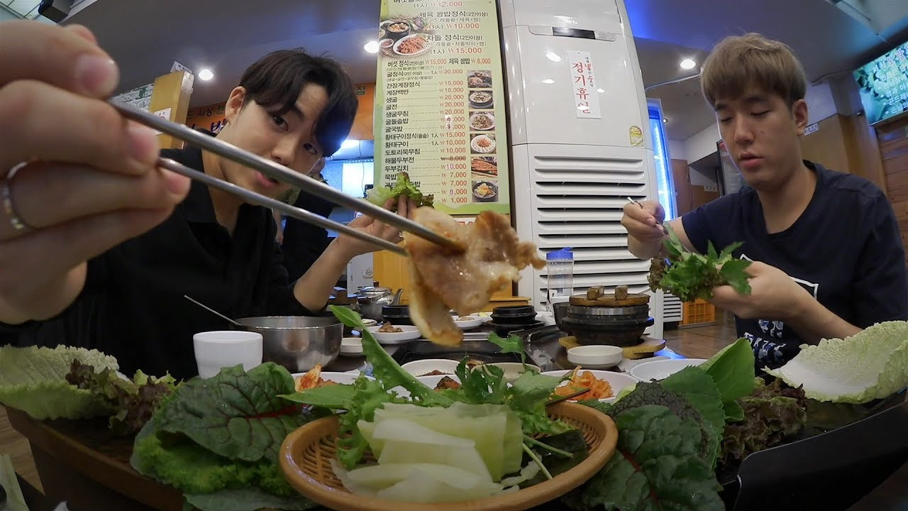 All about Korean restaurants