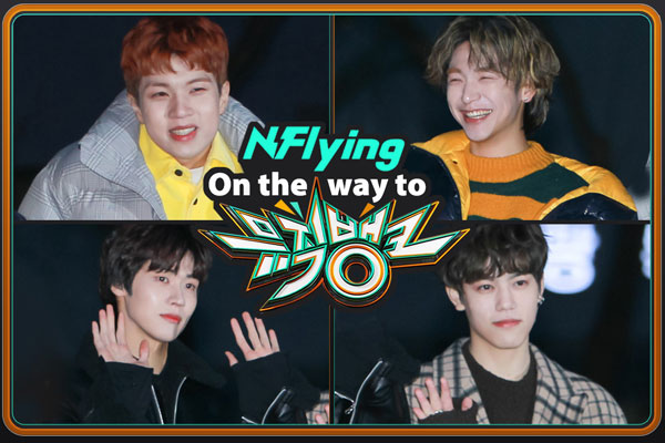 On the way to music bank editor's pick : N.Flying