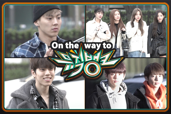 On the way to music bank 190308