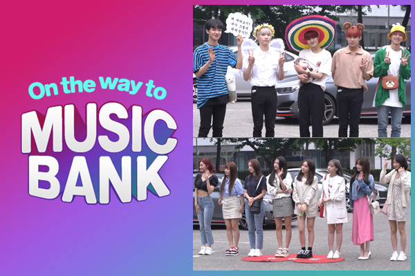 On the way to music bank 190614