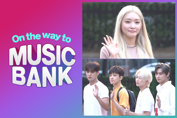 On the way to music bank 190628