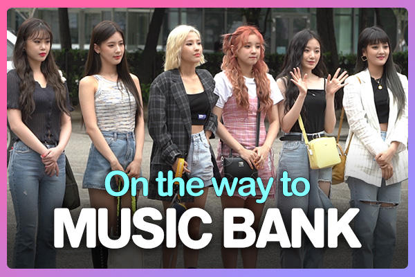 On the way to music bank 190712