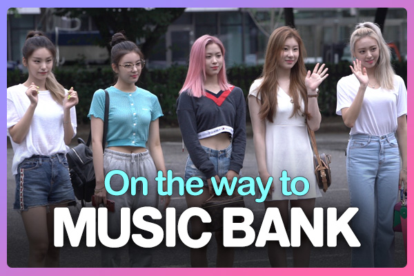 On the way to music bank 190816