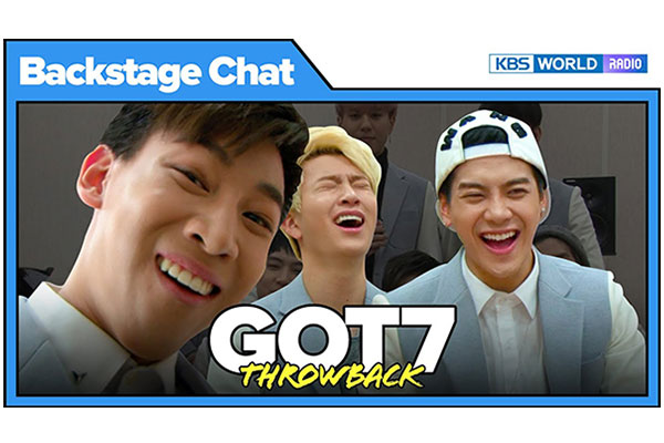 Backstage Chat Throwbacks_GOT7(갓세븐)