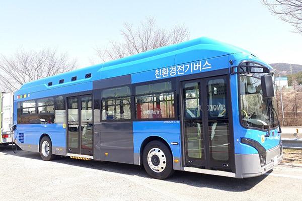 ソウルの電気バス3分の1が中国製