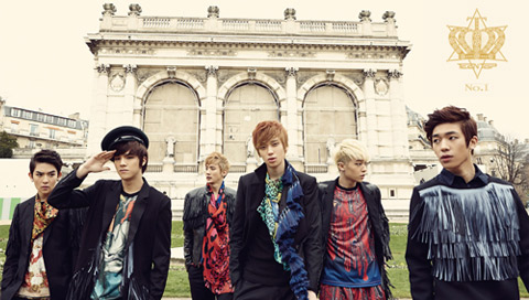 Teen Top, energía que estalla