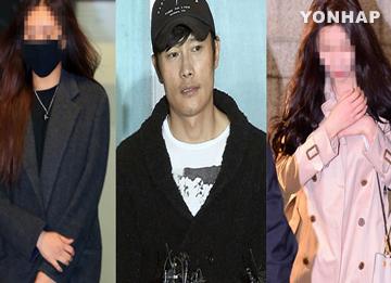 '이병헌 협박' 모델과 가수 항소심서 집행유예