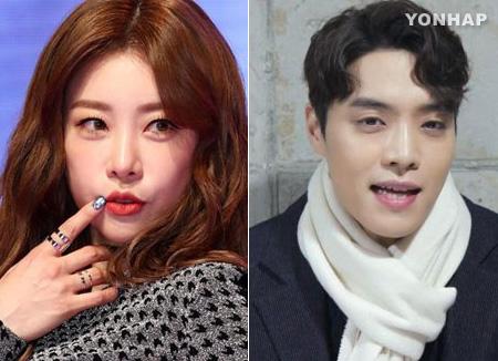 """걸스데이 소진·에디킴, 열애…""""호감 갖고 교제"""""""