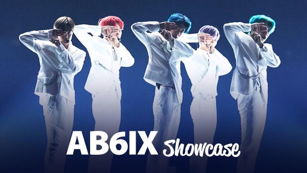 """Шоукейс """"BLIND FOR LOVE"""" группы AB6IX"""