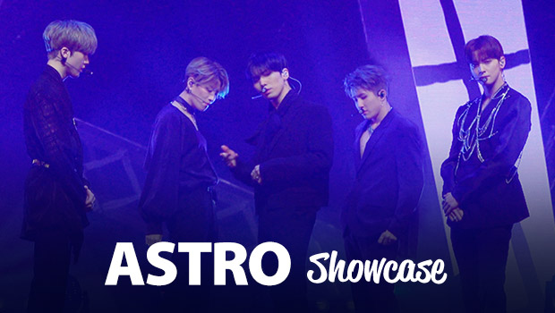Showcase de ASTRO 'Blue Flame'