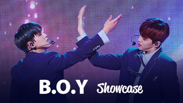 비오브유(B.O.Y) 'My Angel' 쇼케이스