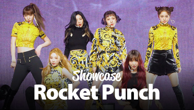 Nuevo showcase de Rocket Punch: 'BOUNCY'