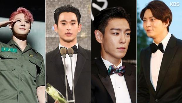 Ряд южнокорейских топ-звёзд уйдут служить в армию в 2017 году!