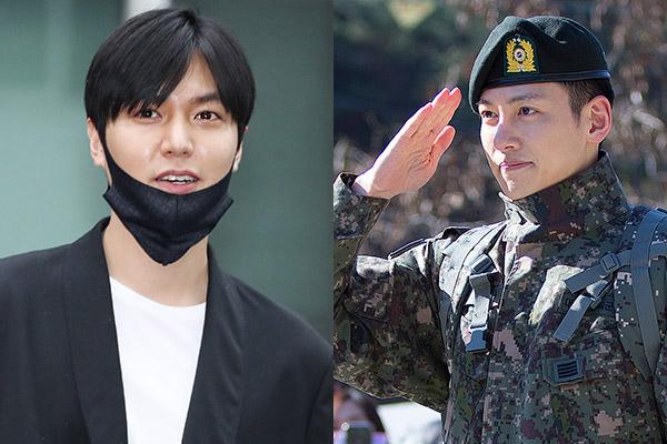 Актёры Ли Мин Хо и Чи Чан Ук вернулись из армии!