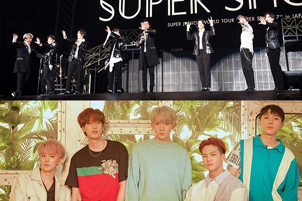 Возвращение Super Junior и TEEN TOP!!