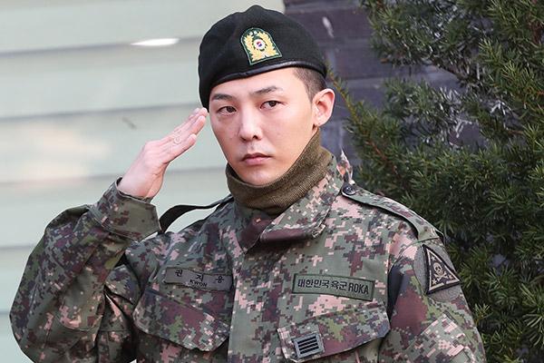 G-dragon вернулся из армии