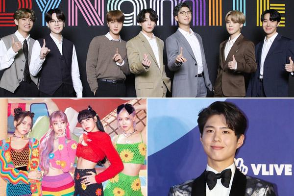 BTS и BLACKPINK завоевывают чарт Billboard