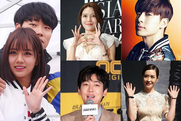 Семь самых крепких пар корейского шоу-бизнеса