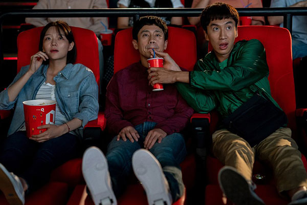 Актер Ли Гван Су и актриса Ли Сом