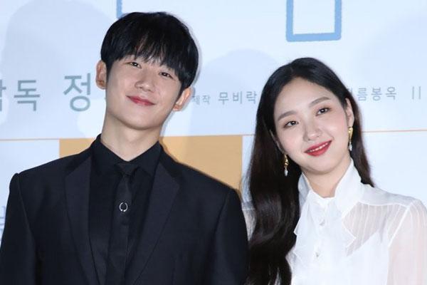 Актёры Ким Го Ын и Чон Хэ Ин