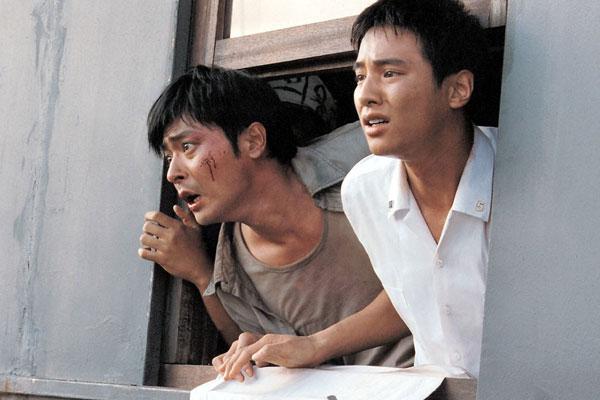 Актеры Чан Дон Гон и Вон Бин