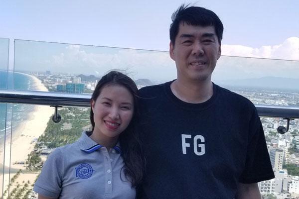 베트남 도시봉쇄 속 음식 나눔 실천한 김규화 씨