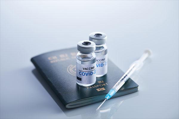 국외 출장시, 백신 우선 접종 확대