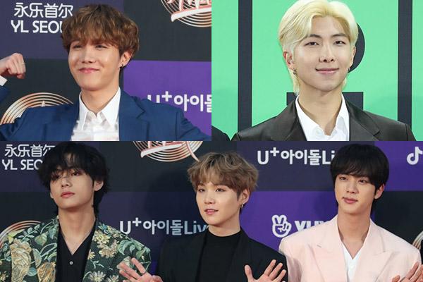 BTS朴智旻、金泰亨将于9月入学攻读硕士 6名成员成汉阳大校友