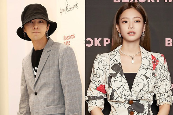 "YG回应权志龙、Jennie恋爱传闻""艺人私生活不便确认"""