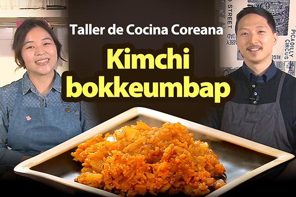 Arroz frito con kimchi (Kimchi bokkeumbap)