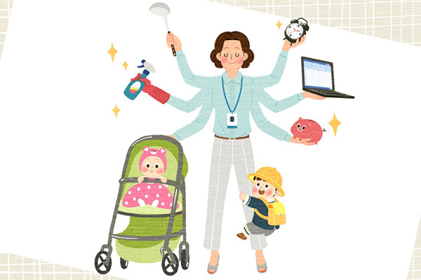 「働くママ」1年で3万人減少