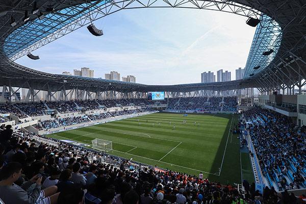 第529話 大邱のサッカー専用スタジアム「テパーク」を紹介します