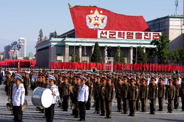 北韩的军队