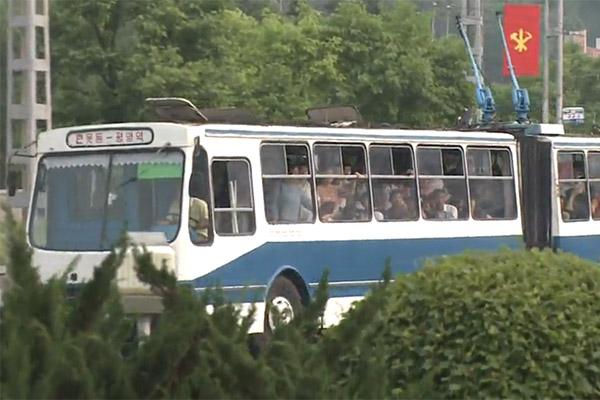 المواصلات العامة في كوريا الشمالية