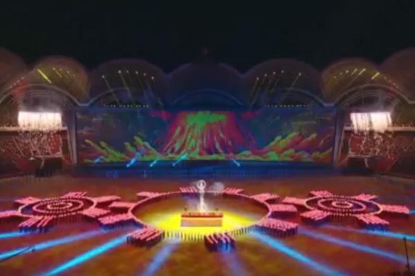 Массовые спортивно-художественные представления в КНДР