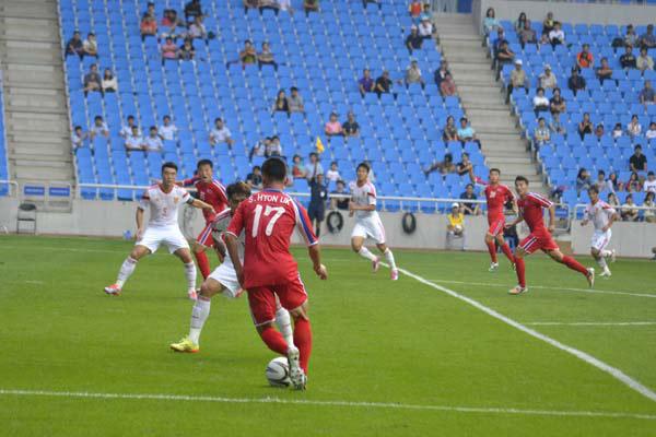 北韩的足球热