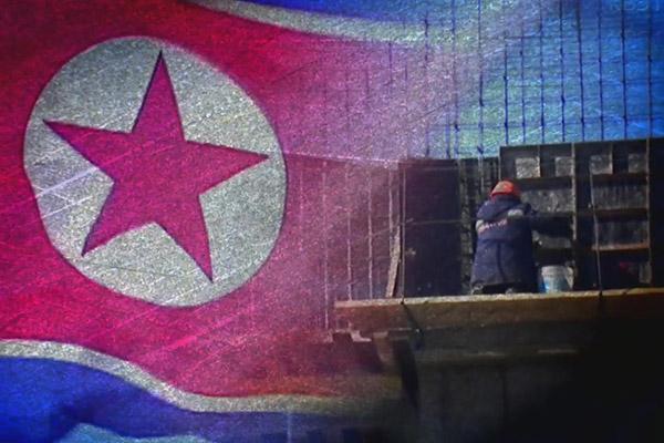 Nordkoreanische Arbeiter im Ausland
