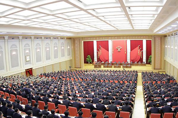 北韩最高权力组织——劳动党