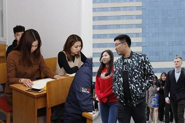 Студенты из КНДР за рубежом