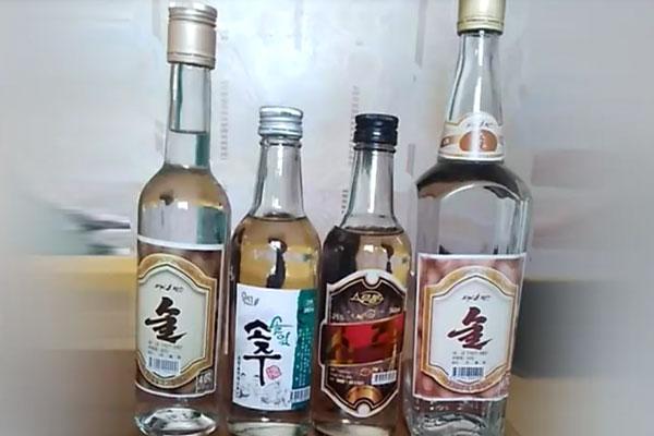 Les alcools de Corée du Nord