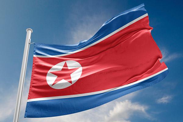 العلم الوطني لكوريا الشمالية