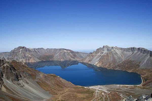 Núi Baekdu ở Bắc Triều Tiên